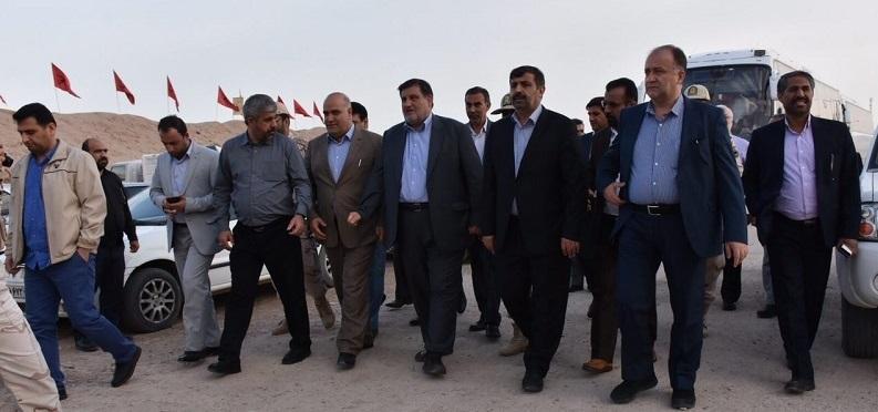 آغاز عملیات بهسازی محور سیاحتی، زیارتی صیدون به اسلام آباد در باغملک
