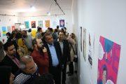 آغاز به کار نمایشگاه آثار طراحان زن گرافیک ایران و ترکیه در خوزستان