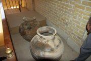 کشف خمره تاریخی از یک منزل مسکونی در شوش