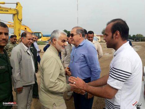 سردار سلیمانی مشتاقان دفاع از حرم را به خوزستان فراخواند