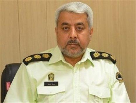 معاون اجتماعی فرماندهی انتظامی استان خوزستان منصوب شد
