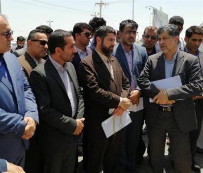 عملیات فاز اول جمع آوری و دفع بهداشتی فاضلاب شهر چمران اجرایی شد