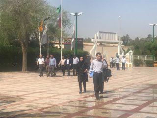 بازدید ۵۰ واحد تولید کننده و تأمین کننده قطعات و تجهیزات از شرکت فولاد خوزستان