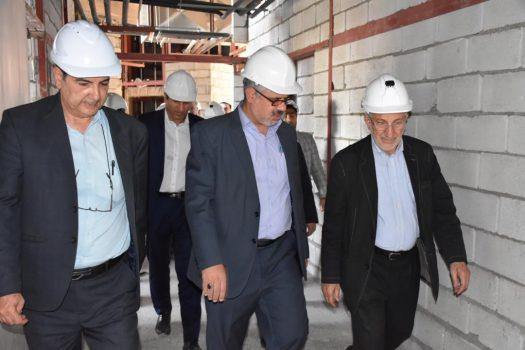 اتمام کار ساخت بیمارستان بزرگ آیت الله طالقانی آبادان تا پایان امسال