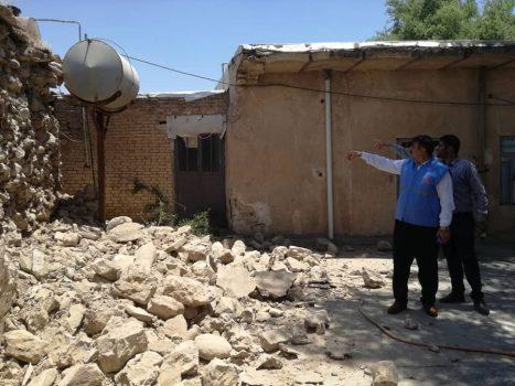 خسارت ۱۵ تا ۵۰ درصدی به اماکن و منازل فرسوده در اثر زلزله مسجدسلیمان