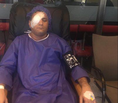 روزنامه نگار خوزستانی در بیمارستان فوق تخصصی نور تهران عمل شد