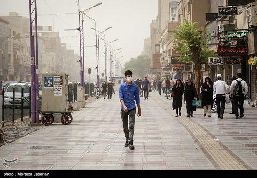 وضعیت بحرانی هوا در برخی از شهرهای خوزستان