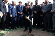 عملیات ساخت کارخانه تولید کاغذ هدیه مقام معظم رهبری به مردم خوزستان کلید خورد