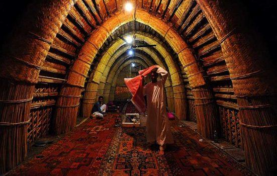 مضیف شیوخ شادگان در ایام عید فطر تعطیل است