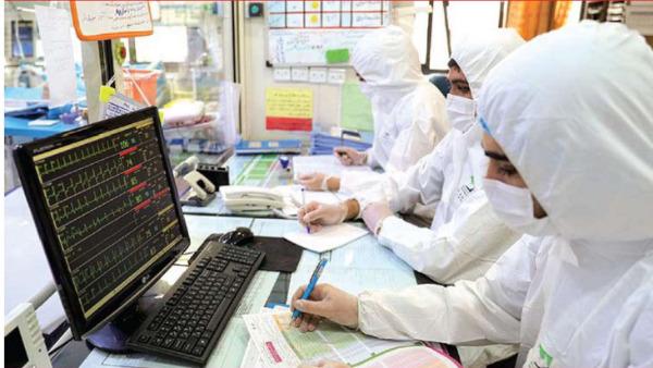 ارائه خدمات درمانی به بیماران مشکوک و مبتلا به کرونا در پنج بیمارستان اهواز