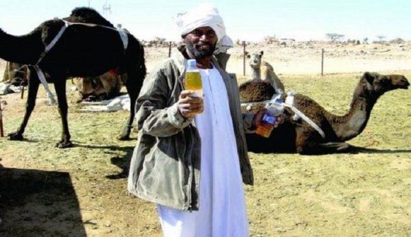فروش ادرار شتر به  مسافران عراقی