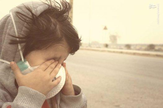 ناسالم بودن هوای پنج شهر خوزستان برای گروه های حساس