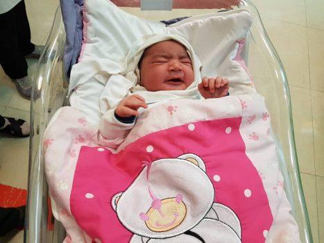 به دنیا آمدن دومین نوزاد سنگین وزن ایران در خرمشهر