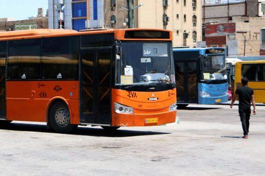 ساعت ۱۹ پایان کار اتوبوسهای حمل و نقل درون شهری اهواز